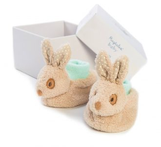 baby Alfie Booties | Soft Toy Booties from Ragtales Ltd