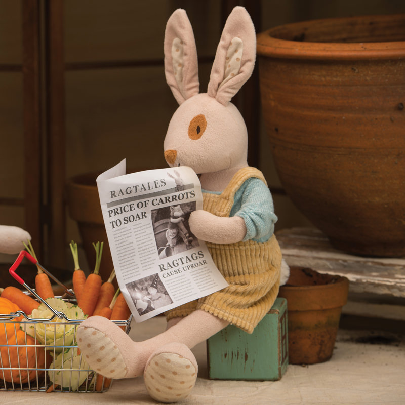 Alfie Lux | Soft Toy Rabbit from Ragtales Ltd