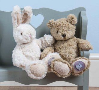 Baby Bo | Bunny Rabbit Soft Toy from Ragtales Ltd