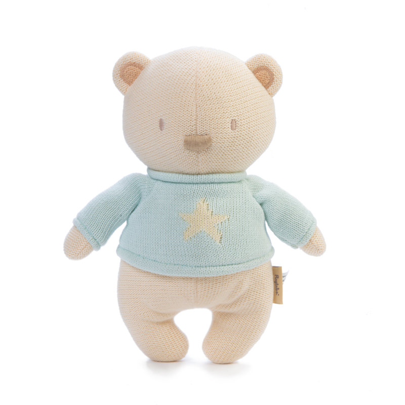 Mimmo Bear | Soft Toy Knitted Bear from Ragtales Ltd
