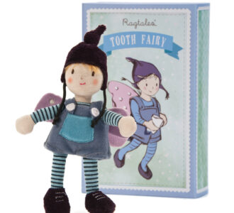 Boy Tooth Fairy | Rag doll tooth Fairy from Ragtales Ltd