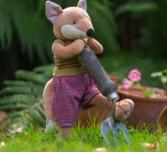 Chester | Fox soft toy from Ragtales Ltd