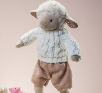 Dylan | Soft Toy lamb from Ragtales Ltd