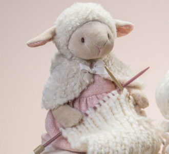 Dylis Lamb | Soft Toy Lamb from Ragtales Ltd