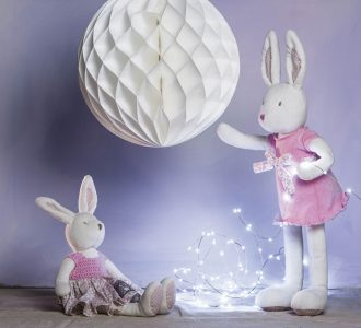 Fifi Lux | Luxurious Bunny Soft Toy from Ragtales Ltd