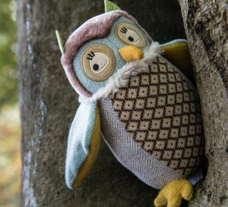 Ollie the Owl | Owl Soft Toy from Ragtales Ltd