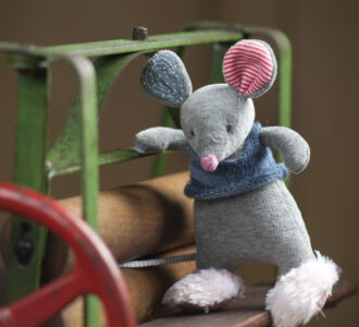 Patch | Soft Toy Mouse from Ragtales Ltd