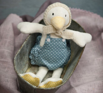 Patsy | Soft Toy Duckling from Ragtales Ltd