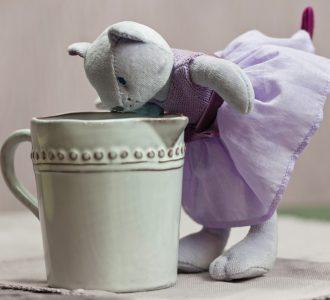 Pippa   Pretty Kitten Soft Toy from Ragtales Ltd