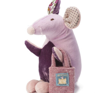 Pompom   Delightful Soft Toy Mouse from Ragtales Ltd