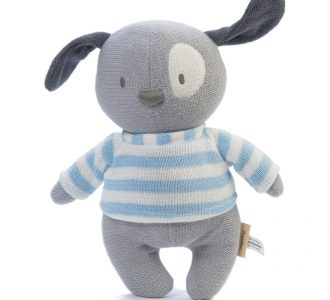 Mimmo Puppy | Knitted Soft Toy Puppy from Ragtales Ltd