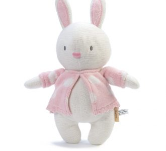 Mimmo Rabbit | Soft Toy Knitted Rabbit from Ragtales Ltd