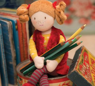 Ruby | Rag doll from Ragtales Ltd