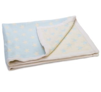 Mimmo Cream Star Blanket | Knitted Blanket from Ragtales Ltd