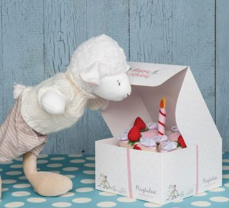 Happy Birthday Cake | Cake Soft Toy from Ragtales Ltd